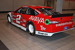 NASCAR Cup Breaking news Team Penske partners with Avaya in NASCAR and IndyCar