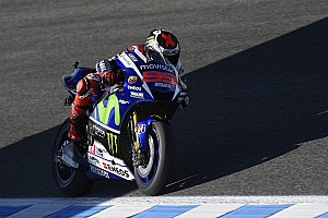 MotoGP Qualifying report Lorenzo smashes circuit record to seal Jerez pole