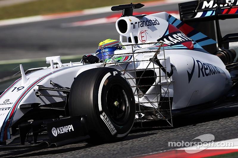 В Williams испытывают технические новинки для 2016 года