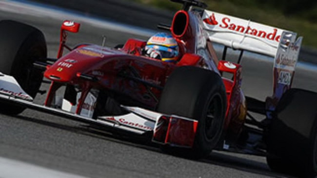 F1: la Ferrari cambia livrea per Santander