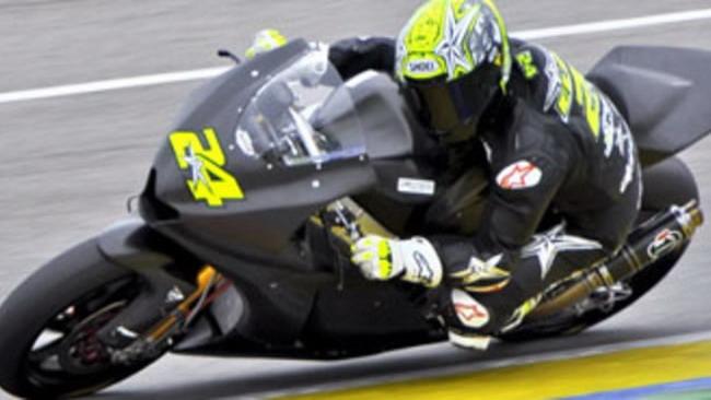 Moto2 2010, Jerez, Test Day/2: Elias davanti