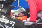 Manni ad Imola con la Line Race Technology