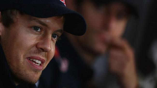 Leggero infortunio ad una gamba per Vettel