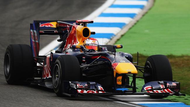 Hockenheim, libere 3: Vettel leader sotto la bandiera