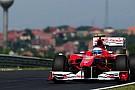 Prove aerodinamiche sulle due Ferrari
