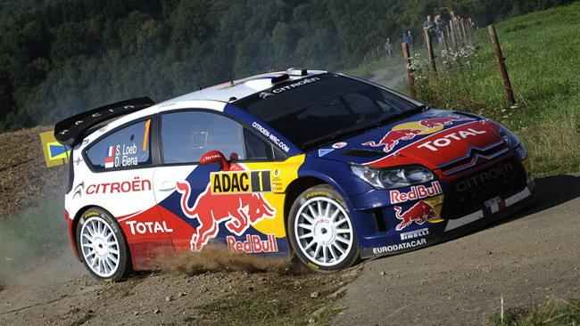 PS1: Loeb subito in vista all'Adac Rally