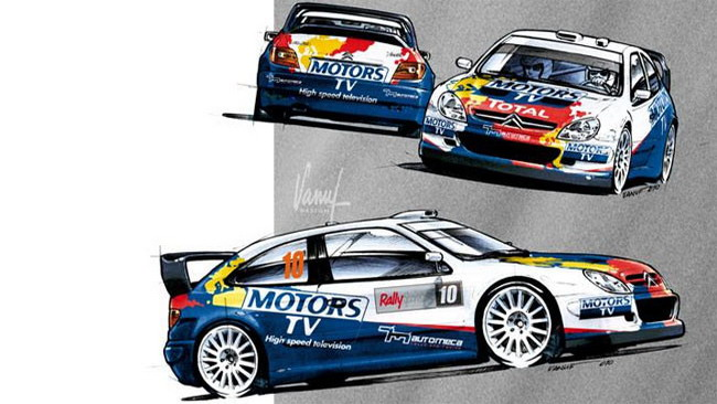 Yvan Muller al via del Rally di Francia