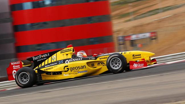 Grosjean ancora il più veloce a Los Arcos