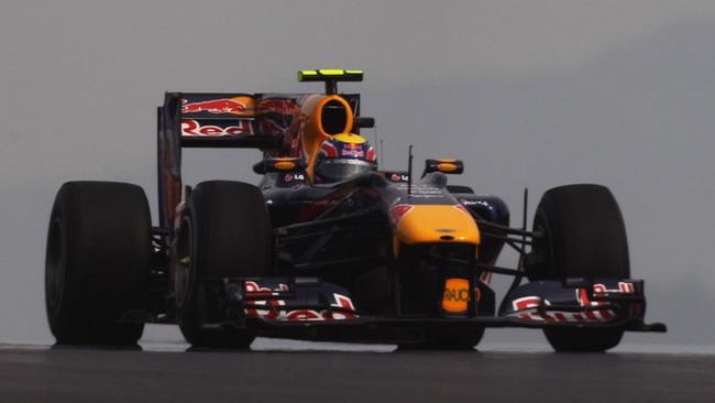 Webber ha deciso di utilizzare un motore nuovo