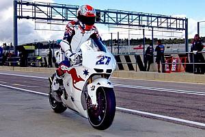 MotoGP Ultime notizie Stoner soddisfatto del suo ritorno sulla Honda