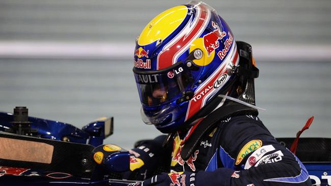 Webber non vuole darsi per vinto