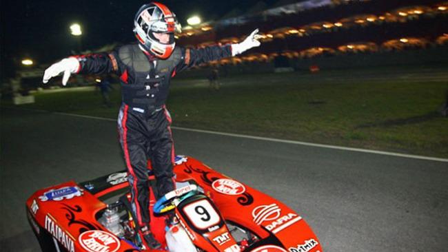 Di Grassi campione sui kart a Florianopolis