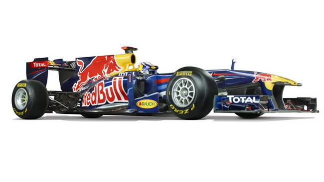 Red Bull RB7 laboratorio aerodinamico