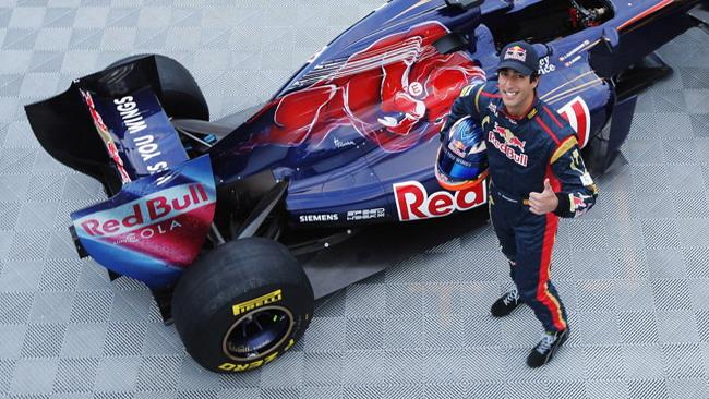 Ricciardo apre i test di Jerez per la Toro Rosso