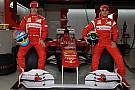 Un San Valentino da attori per Alonso e Massa