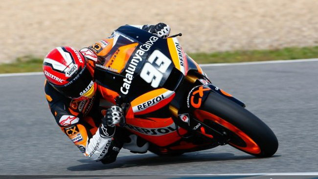 Jerez, Day 3: volano Marquez e Faubel