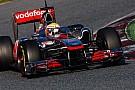 Test Barcellona: la McLaren cambia i suoi piani