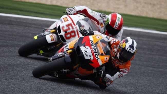 Honda dice no al peso minimo moto + pilota