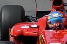 La Ferrari con la nuova sospensione posteriore vola!