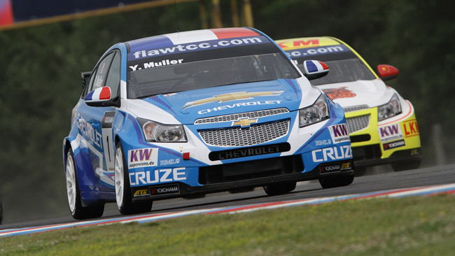 Muller risponde ad Huff in gara 2 a Brno