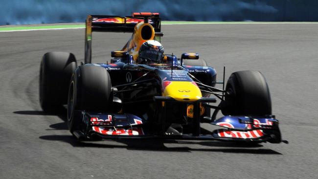 Valencia, Libere 3: Sebastian Vettel al top