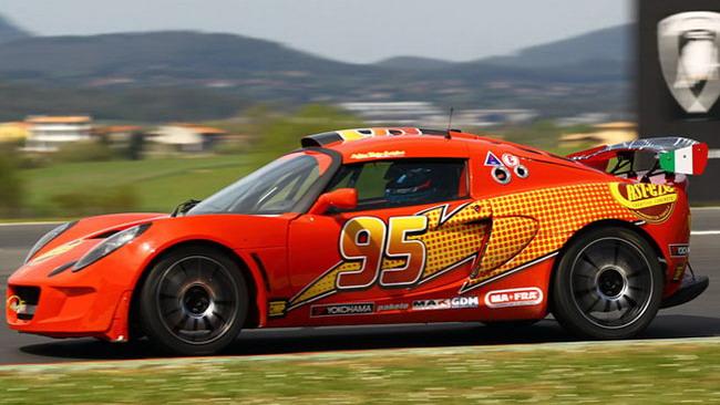 Due Lotus della PB Racing alla 6 Ore di Misano