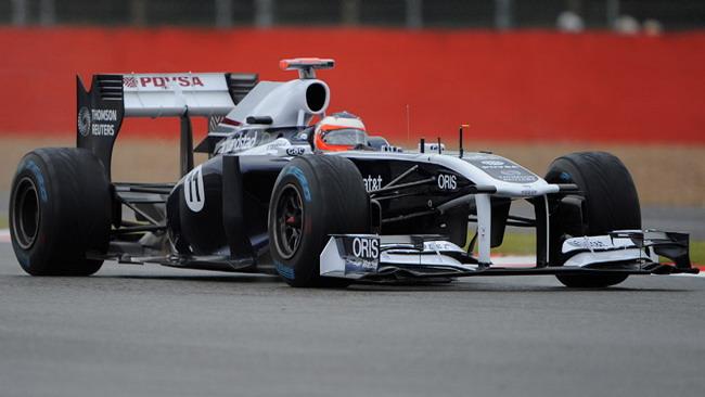 Nuove ali per le Williams al Nurburgring