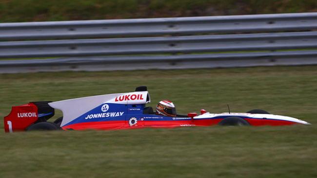 Afanasiev vola nella seconda sessione di libere