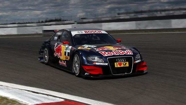 Dominio di Mattias Ekström al Nürburgring