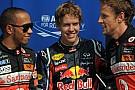 Vettel in pole, Schumy ottavo e Rosberg nono