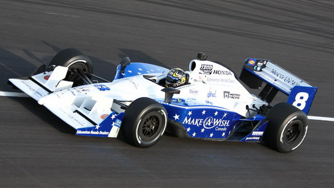 Paul Tracy a Las Vegas con la Dragon Racing