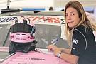 Michela Cerruti ai test della GP3 di Barcellona