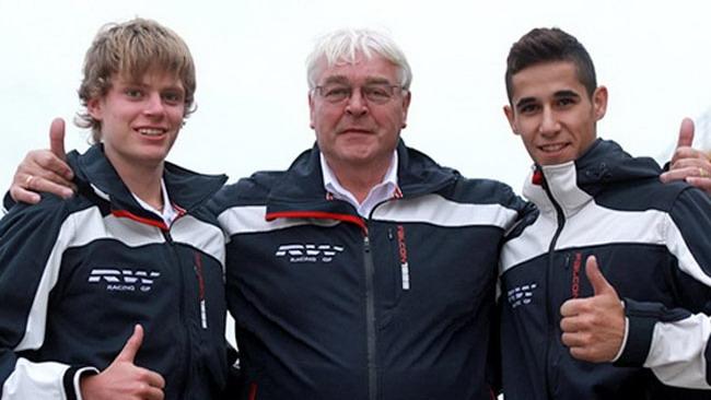 Salom e Binder con RW Racing GP in Moto3