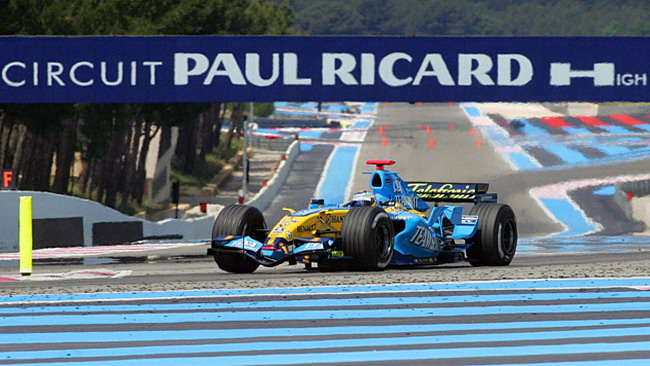 Il Gp di Francia vicino al rientro in Formula 1