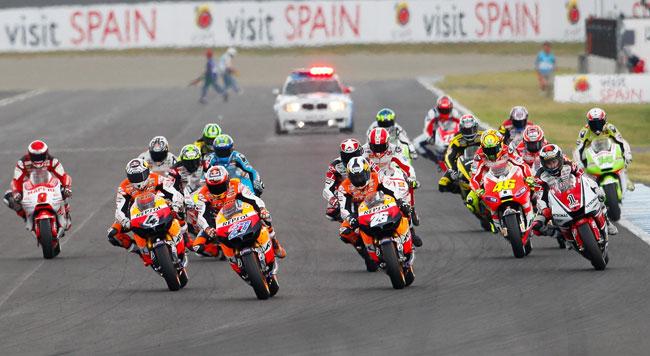 21 moto nella entry list 2012 della MotoGp