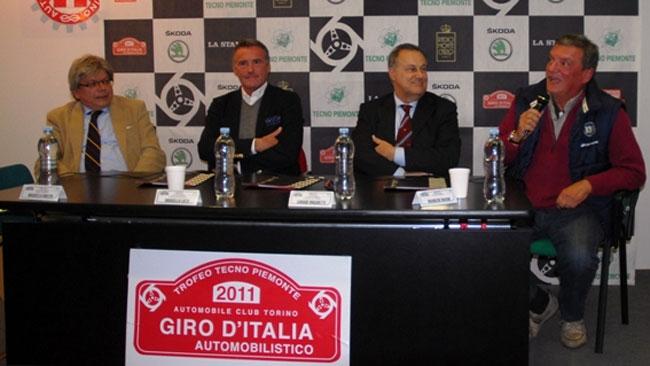 Il Giro d'Italia 2012 si presenta a Motorsport Expotech