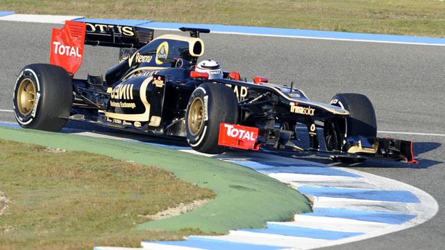 Jerez, Day 1: Raikkonen e la Lotus al top