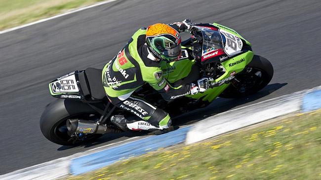 Sykes si gode i miglioramenti della Kawasaki