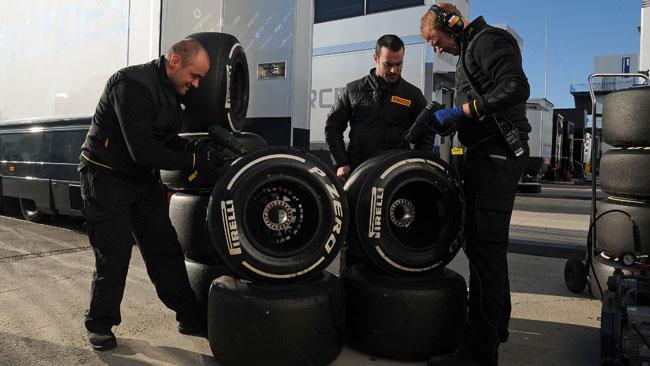 Pirelli a Barcellona con 367 set di gomme