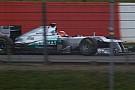 L'amplifier della Mercedes GP W03 non è il segreto