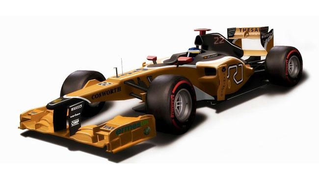 La HRT cambierà colori con la macchina nuova?