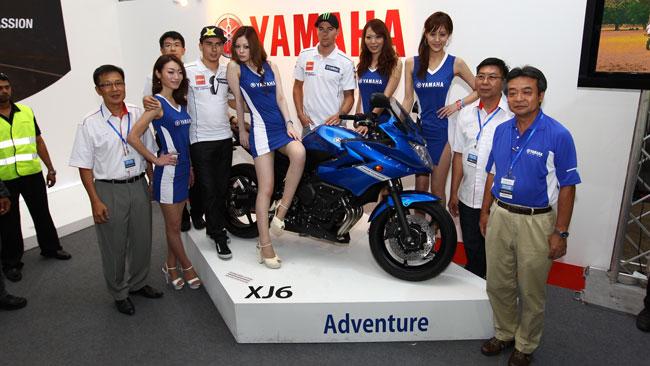 Lorenzo e Spies ospiti dell'International MotoXpo