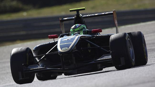 Conor Daly in GP3 con la Lotus GP