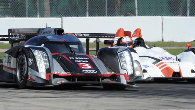Sebring, Libere 1: svetta l'Audi con Romain Dumas