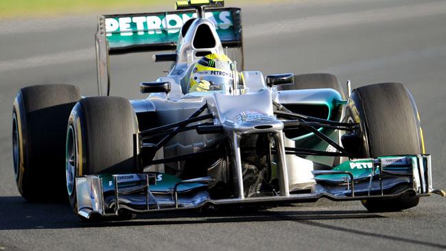 La deludente Mercedes si mangia le gomme