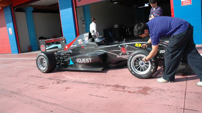 Test a Franciacorta per Ohmura e Tomcat Racing