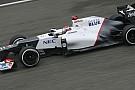 La Sauber ha la velocità più alta con Perez
