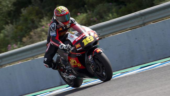 Bautista e Pirro carichi in vista di Jerez
