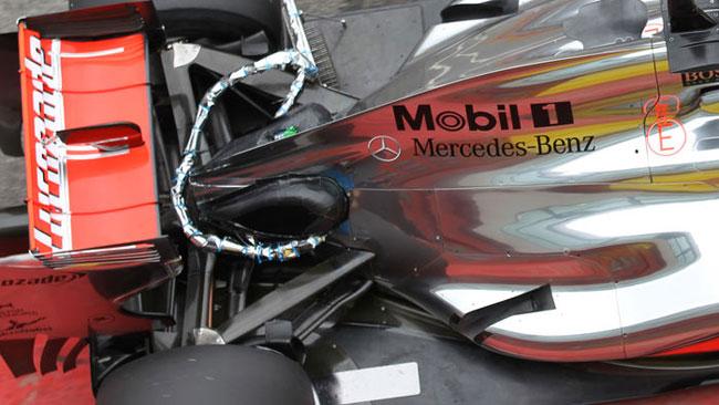 Anche la McLaren ha simulato l'F-duct con Turvey