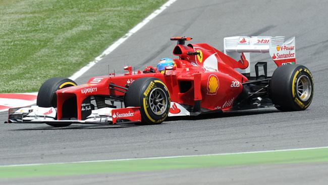 Fernando Alonso contento del suo secondo posto
